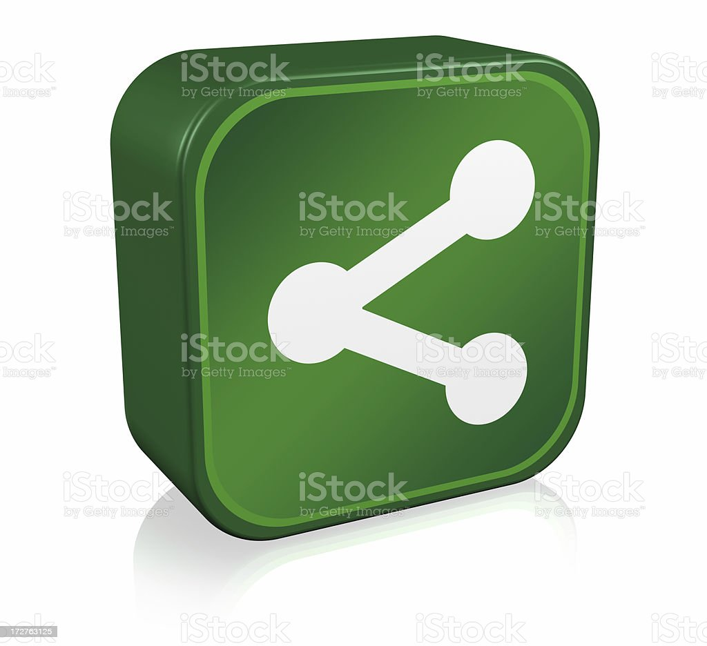 Share Icon royalty-free stock photo