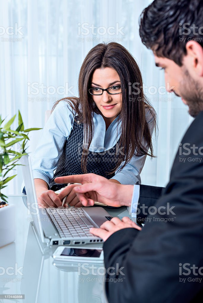 Shared informations royalty-free stock photo