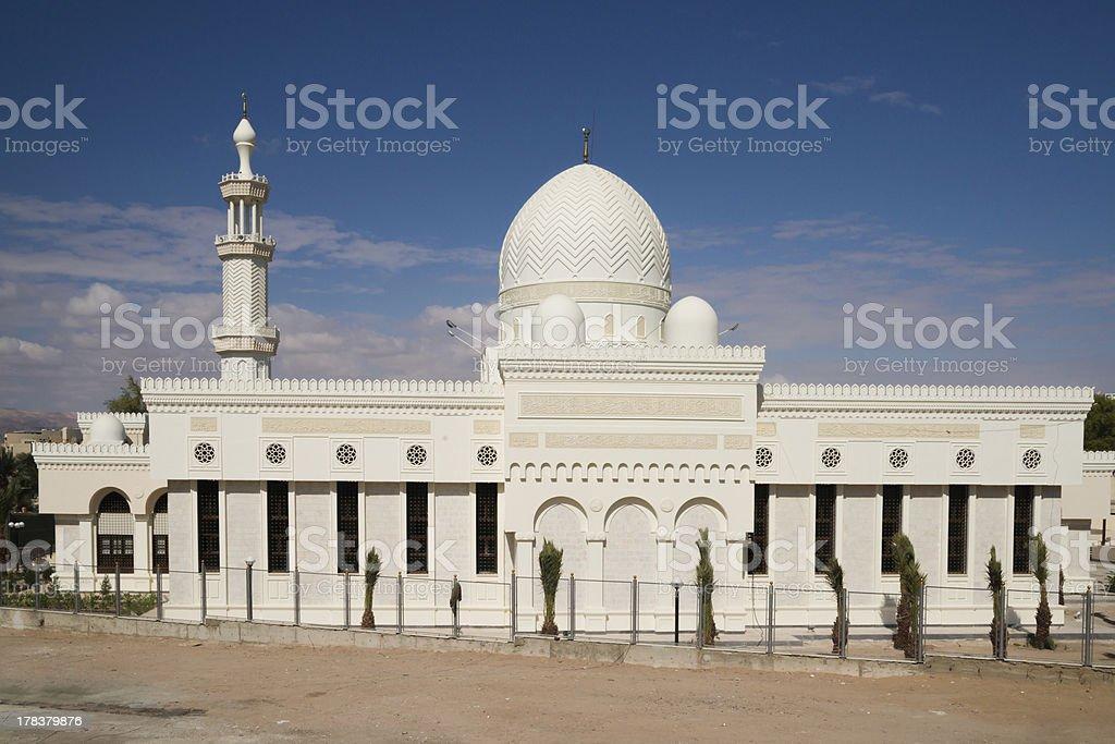 Sharif Hussein Bin Ali Mosque in Aqaba royalty-free stock photo