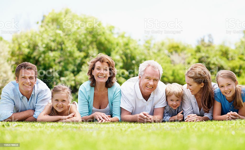 Sharing a heritage rich in love royalty-free stock photo