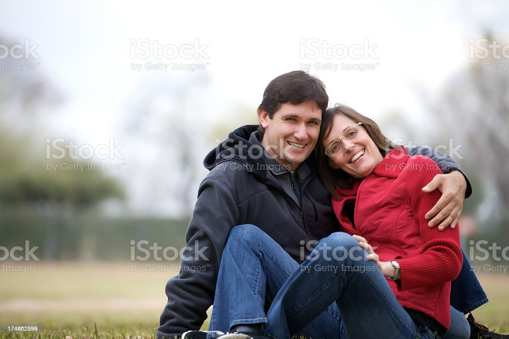 Sharing great momments royalty-free stock photo
