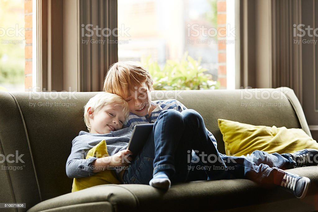 Sharing is caring stock photo