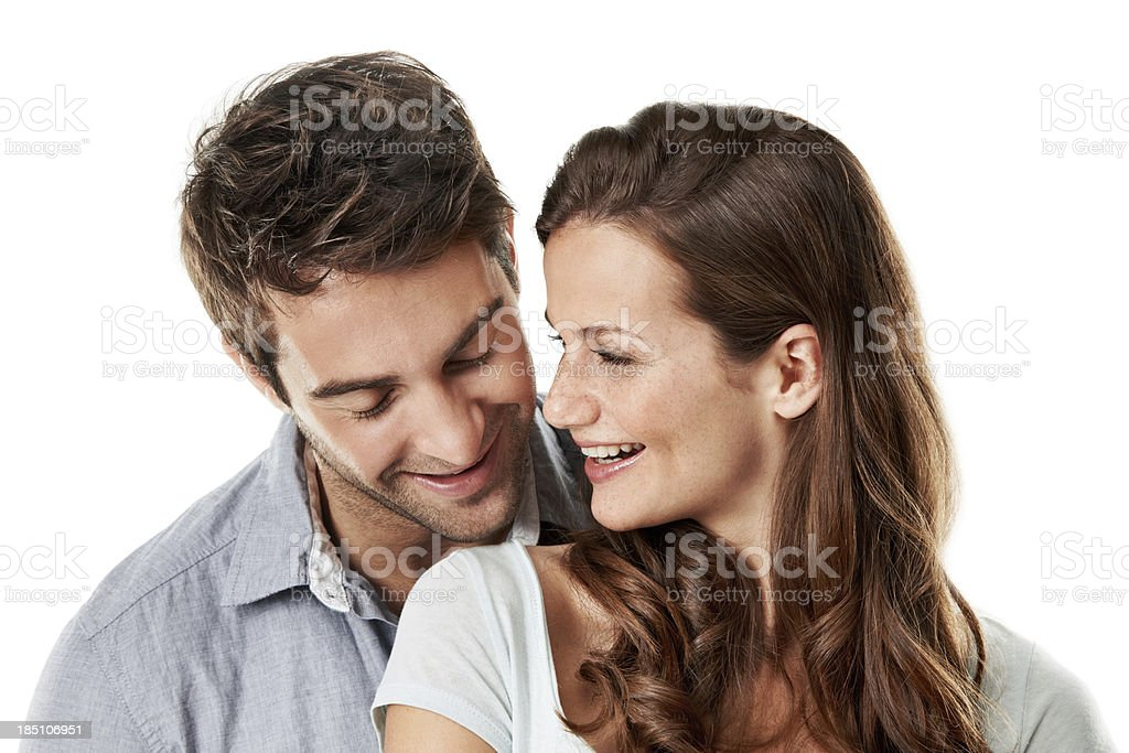 Sharing little moments royalty-free stock photo