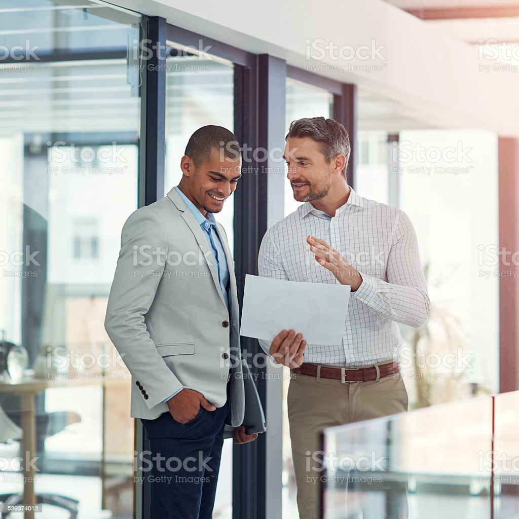 Sharing valuable contributions stock photo
