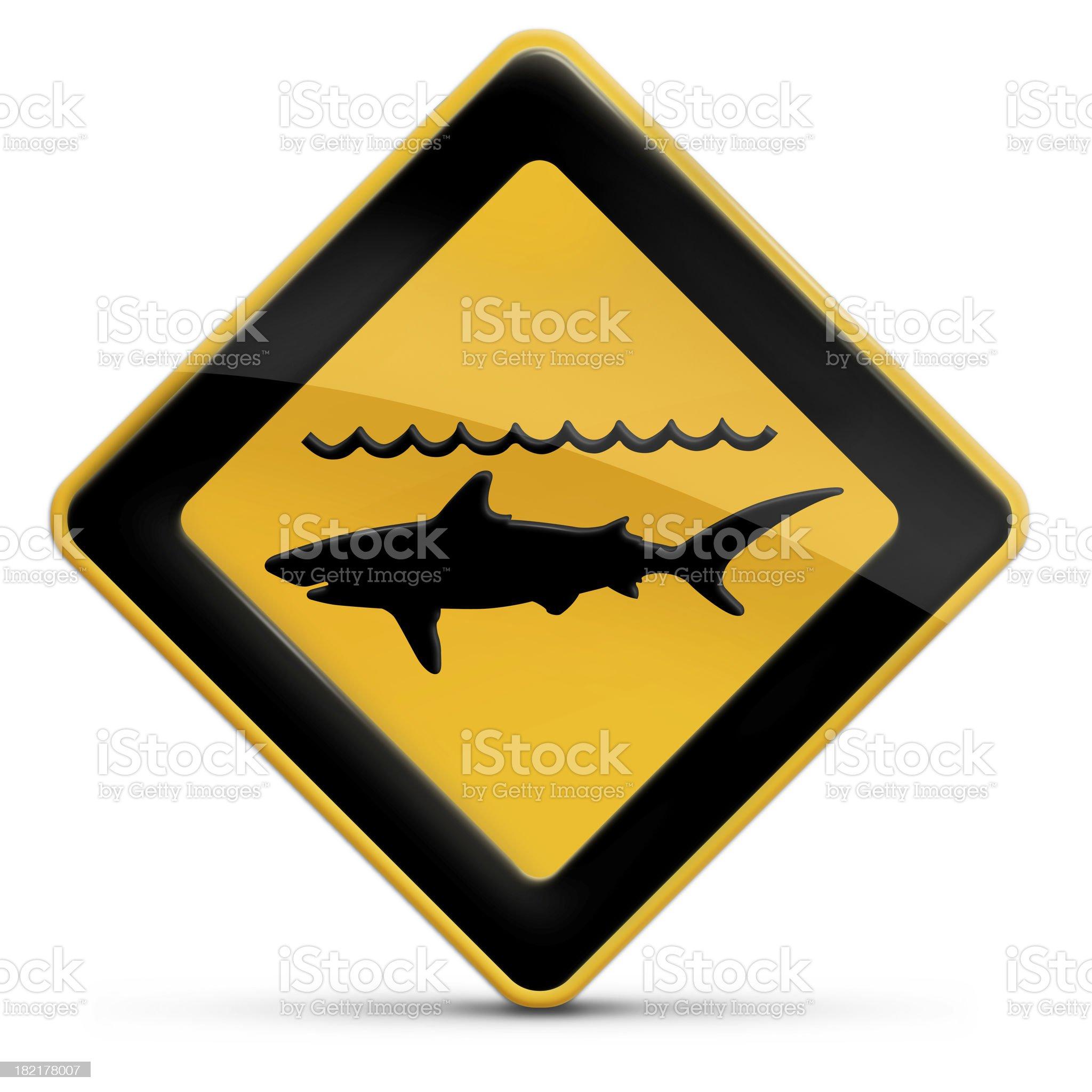 Shark Attack royalty-free stock photo