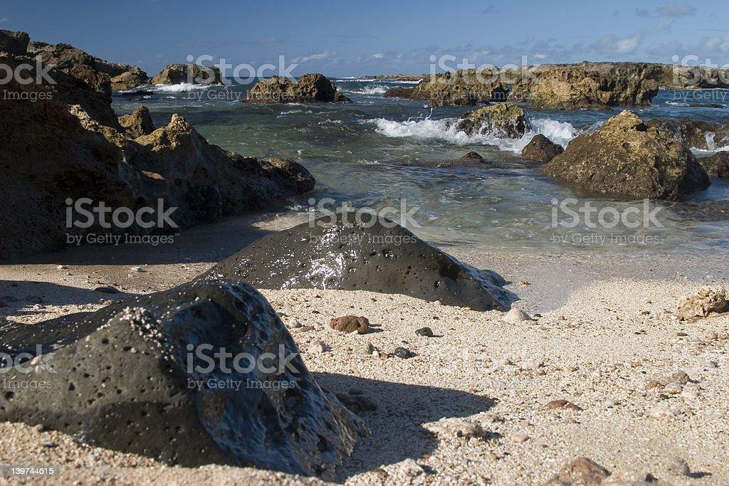 Shark's Cove 2 royalty-free stock photo
