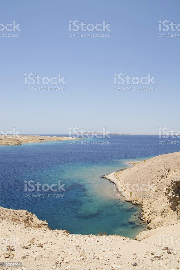 Sharm El Sheikh Sea stock photo