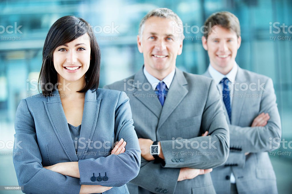 Sharp business acumen royalty-free stock photo