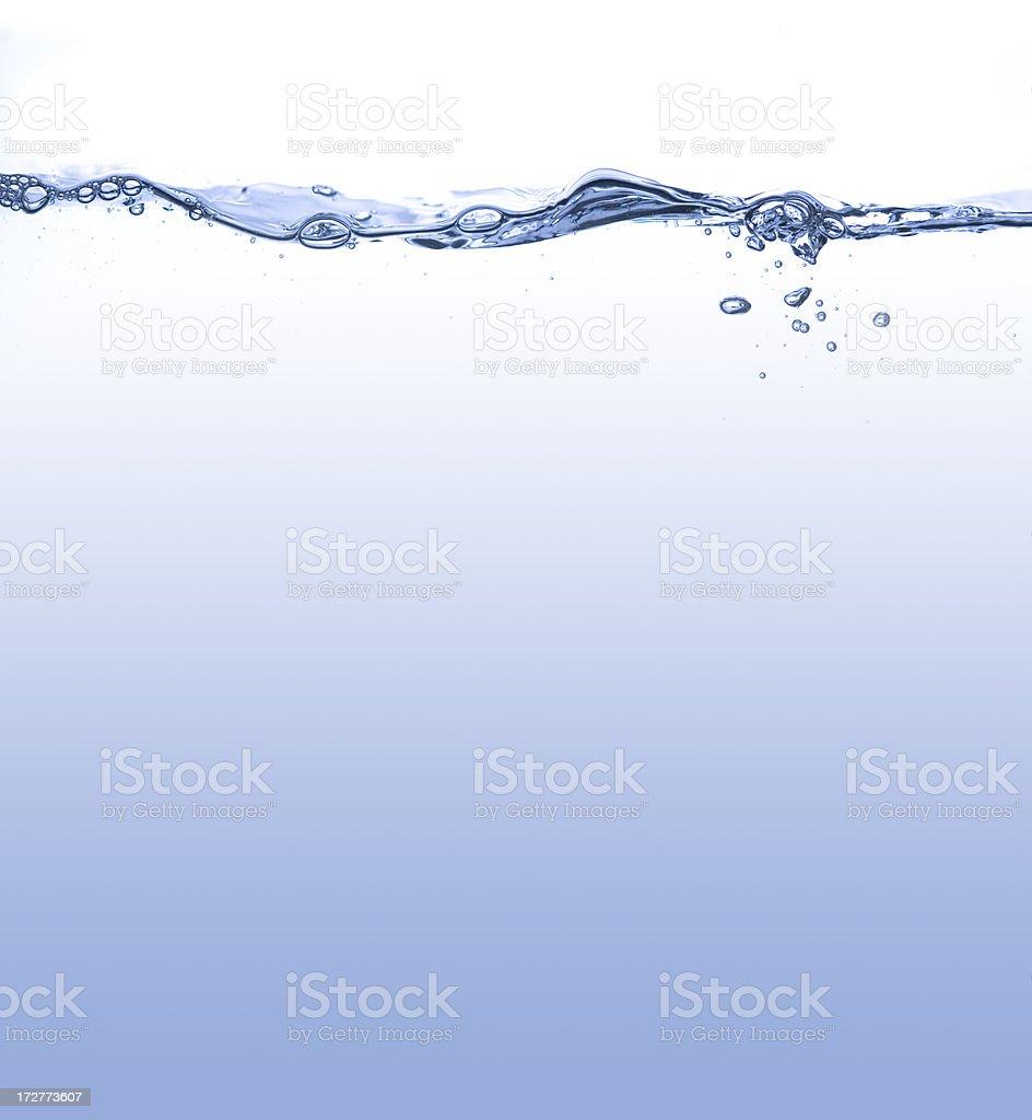 Sharp photoshoot of water surface stock photo