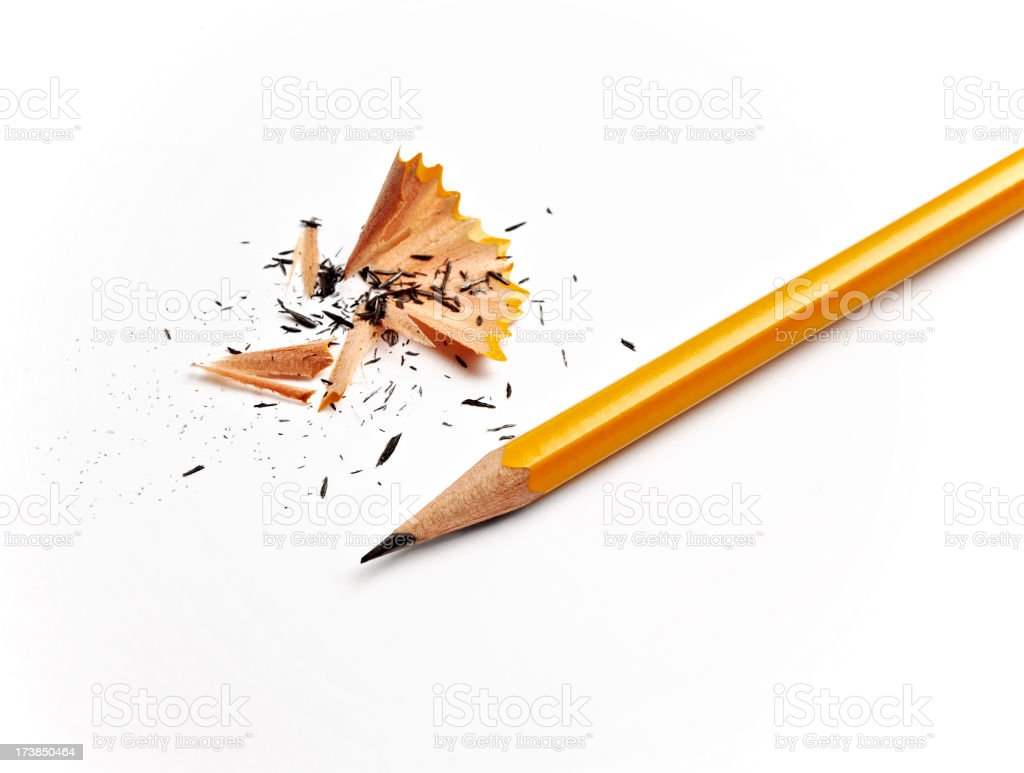 Sharpened Pencil stock photo