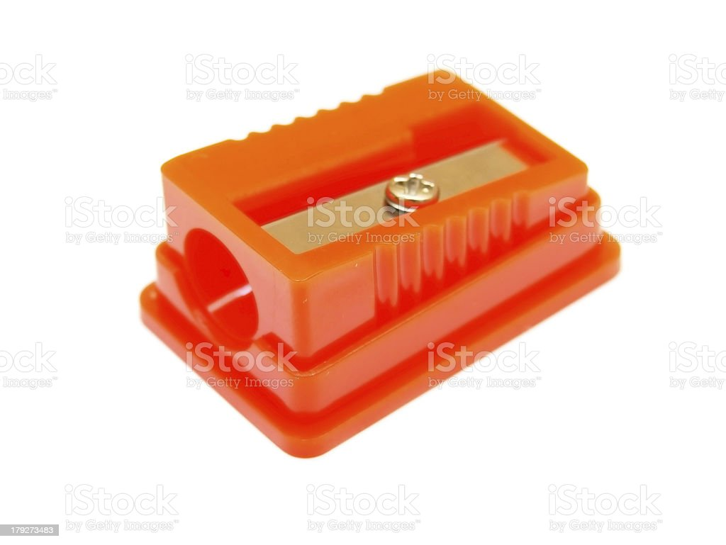 Sharpener . royalty-free stock photo