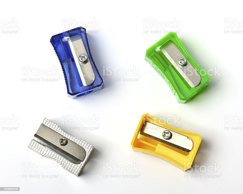 sharpeners stock photo