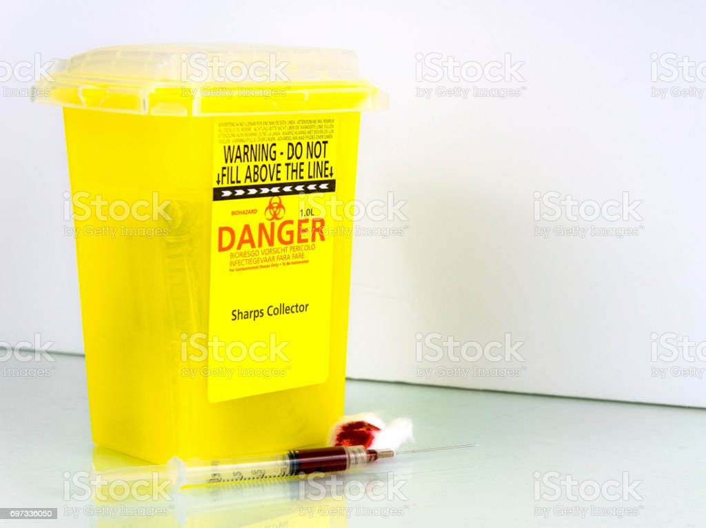 Sharps Collector stock photo