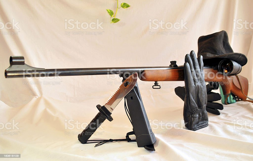 Sharpshooter royalty-free stock photo