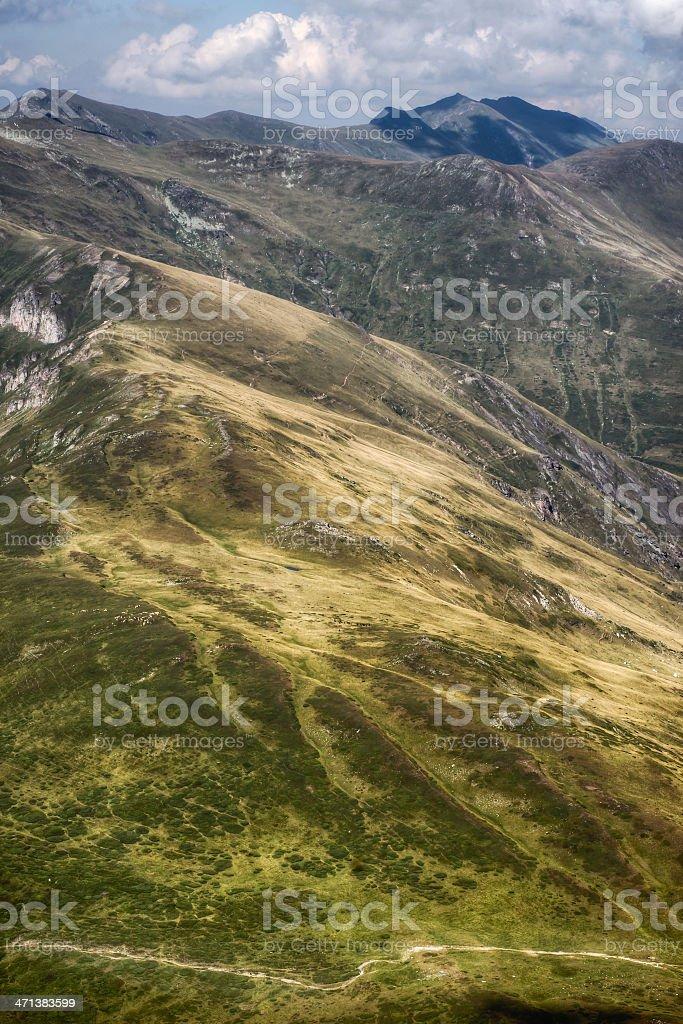 Sharr Mountains stock photo
