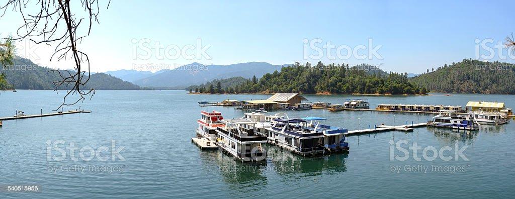 Shasta Lake stock photo