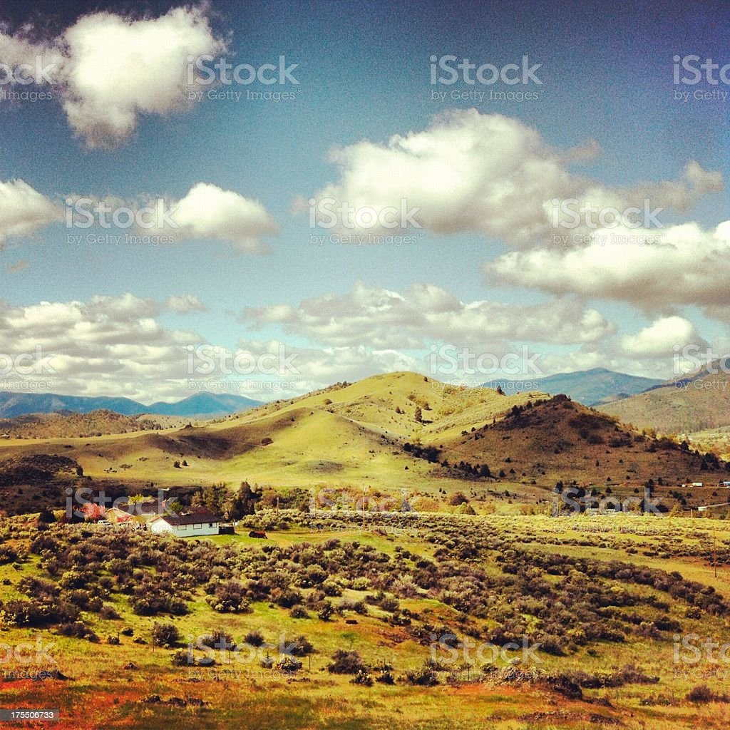 Shasta Valley royalty-free stock photo