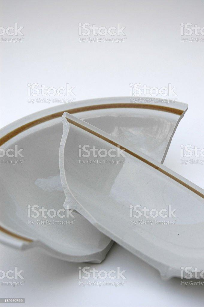 Разрушенное Чаша Стоковые фото Стоковая фотография