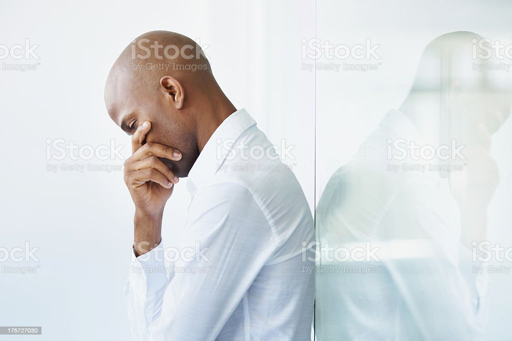 Shattered dreams stock photo