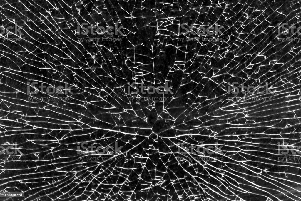 Shattered Glass II royalty-free stock photo