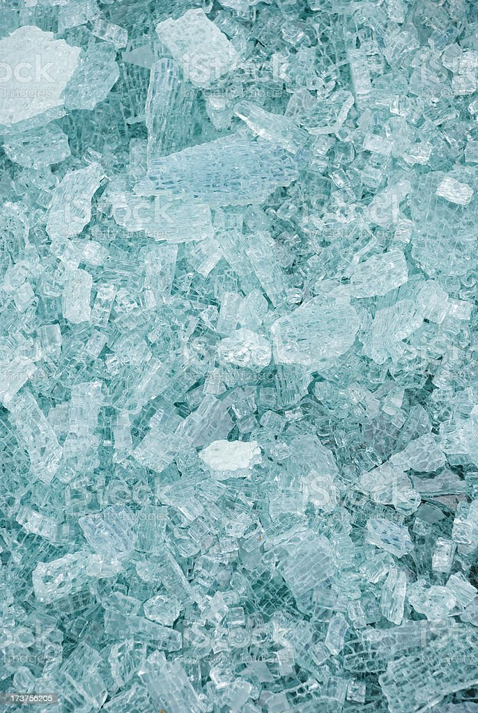 Shattered Glass royalty-free stock photo