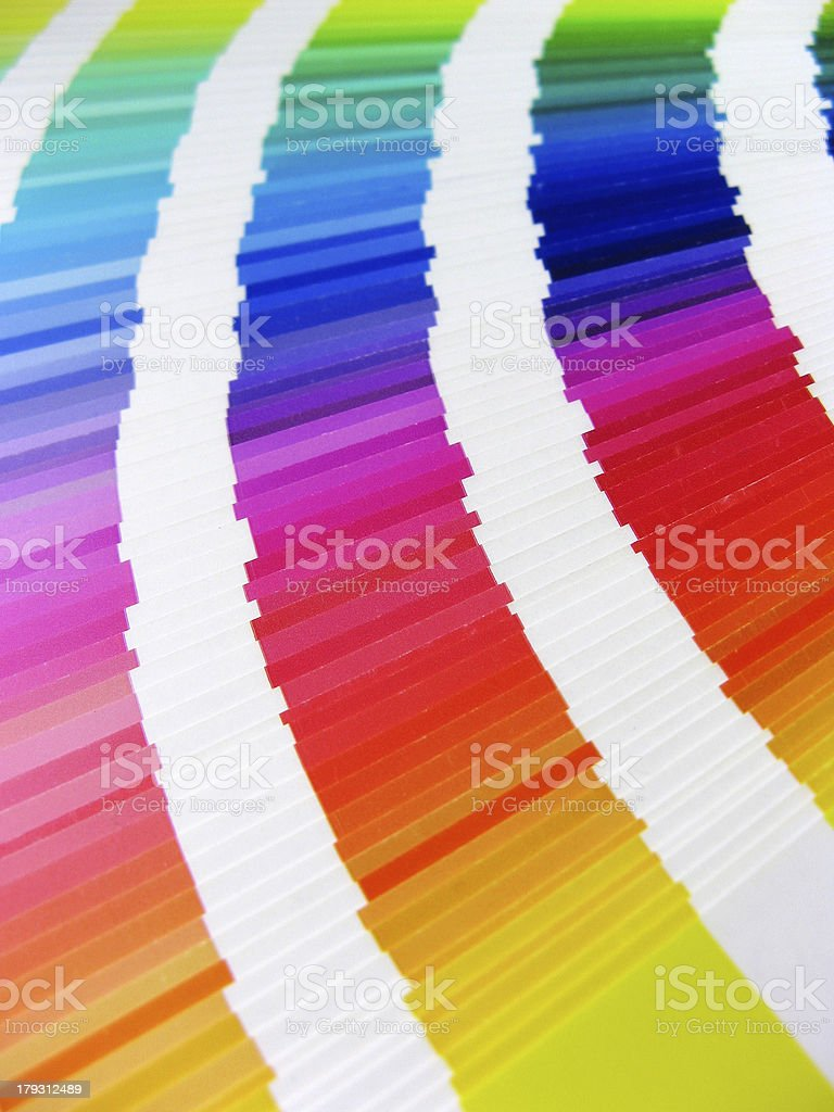 Shattered rainbow royalty-free stock photo