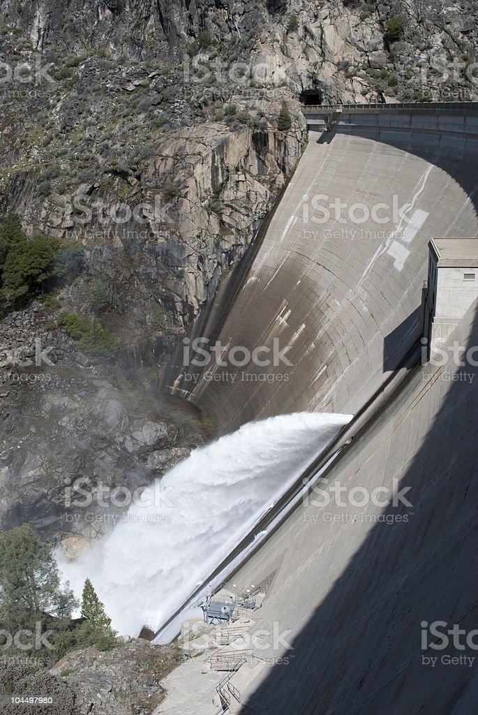 O'Shaughnessy Dam stock photo