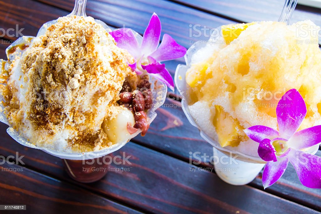 Shave Ice stock photo