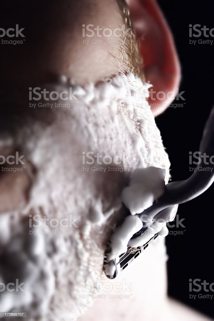Shave II royalty-free stock photo