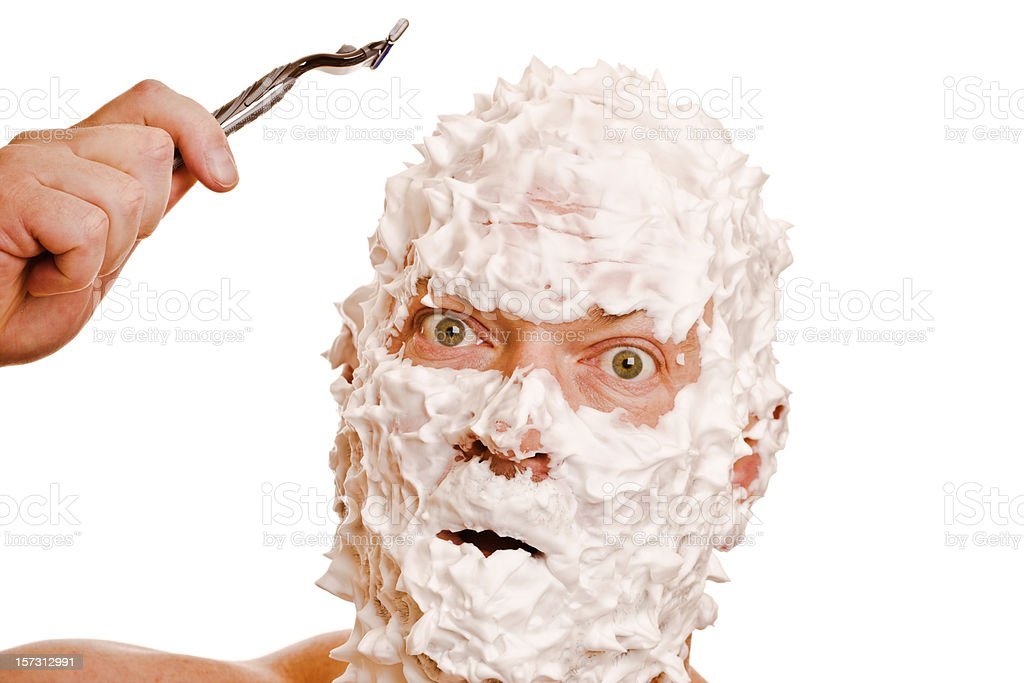Shave It royalty-free stock photo