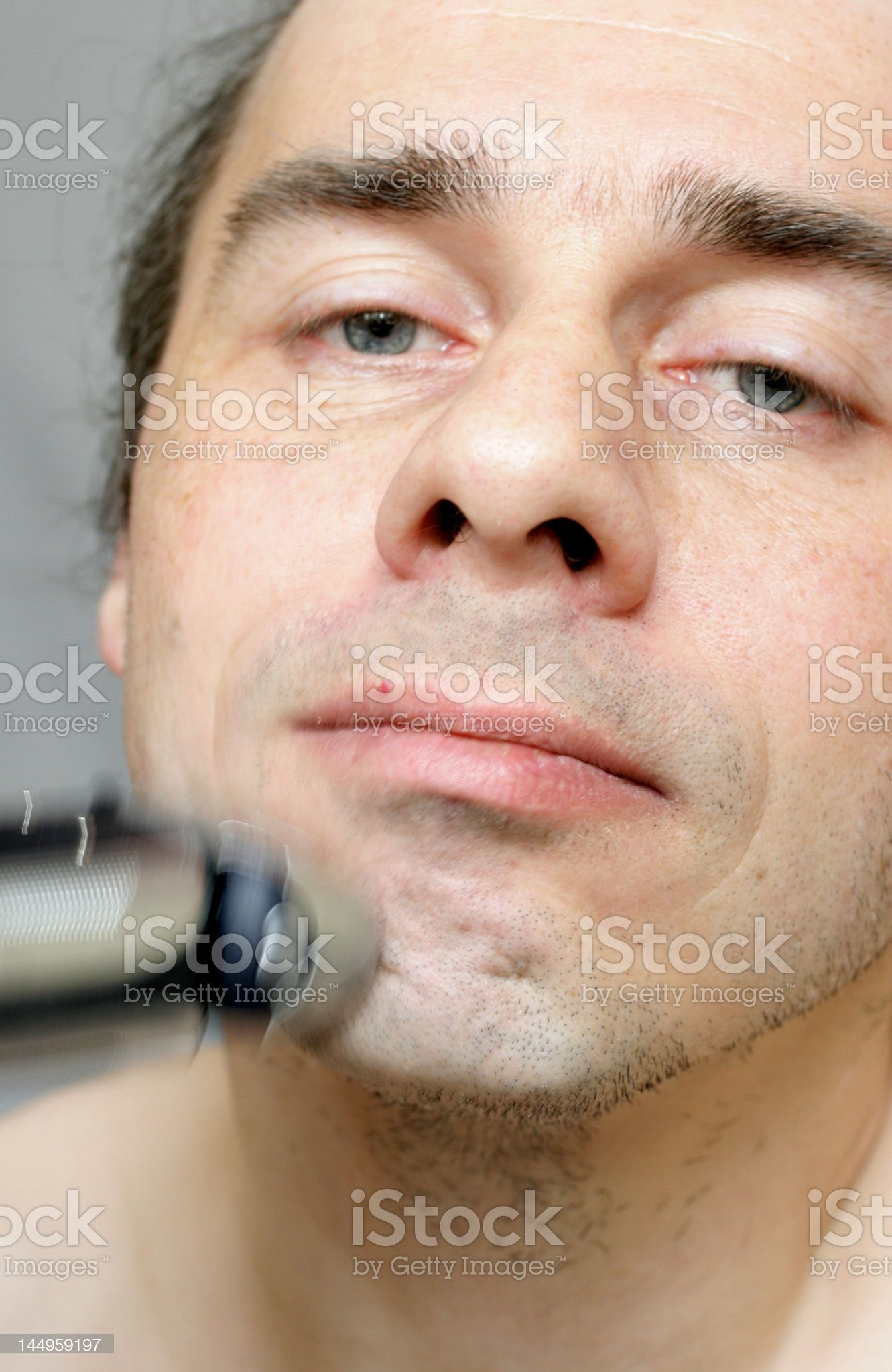 shave royalty-free stock photo