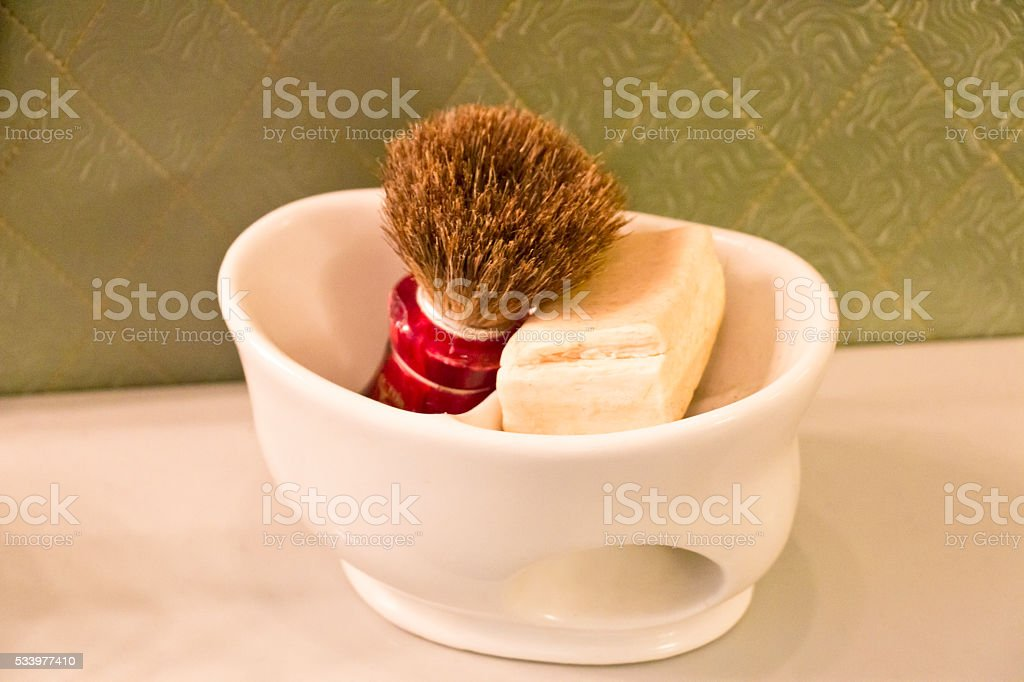 Shaving Accessories of the '50s stock photo