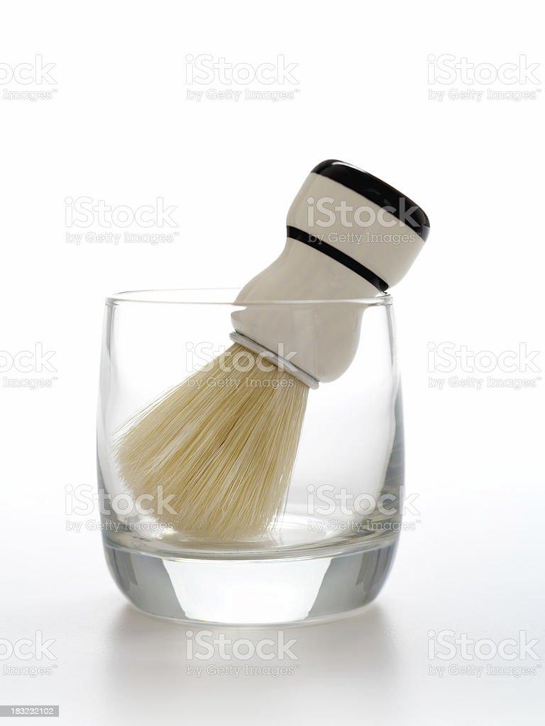 Shaving Brush & Mug (classic) royalty-free stock photo