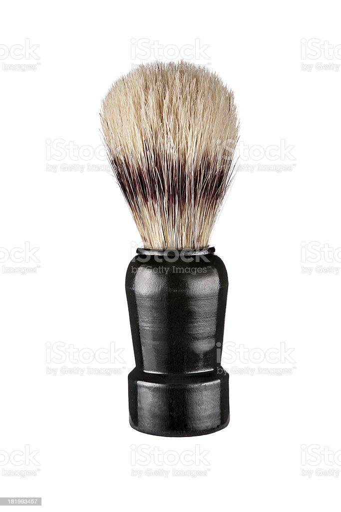 Shaving brush royalty-free stock photo