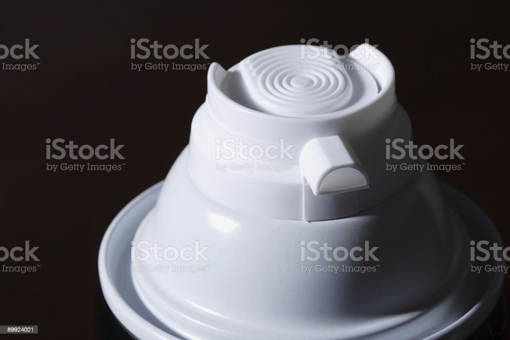 Shaving Cream Container royalty-free stock photo
