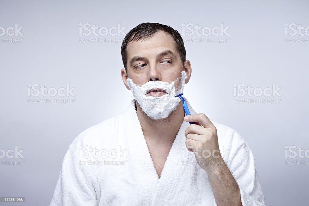 Shaving stock photo
