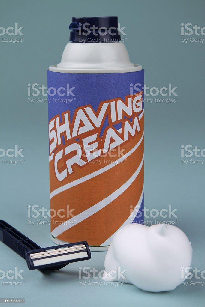 Shaving Supplies royalty-free stock photo