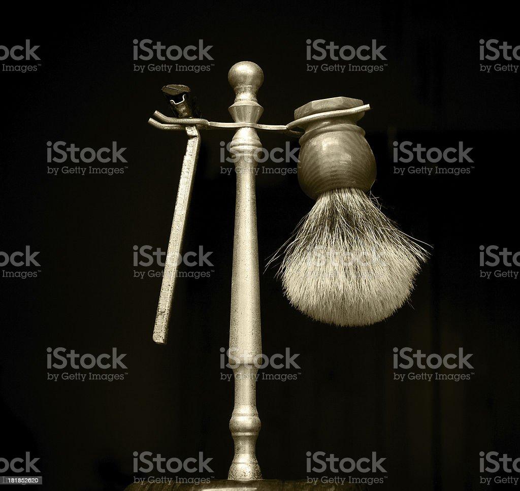 shaving tools royalty-free stock photo