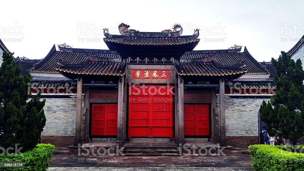 Shawan Ancient Town stock photo