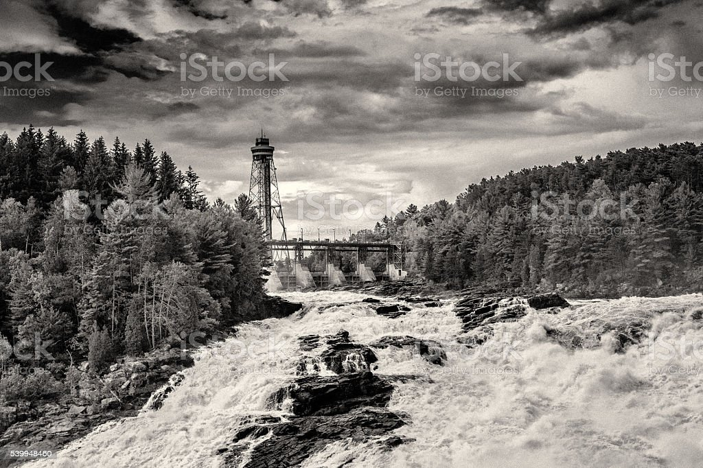 Shawinigan Falls stock photo