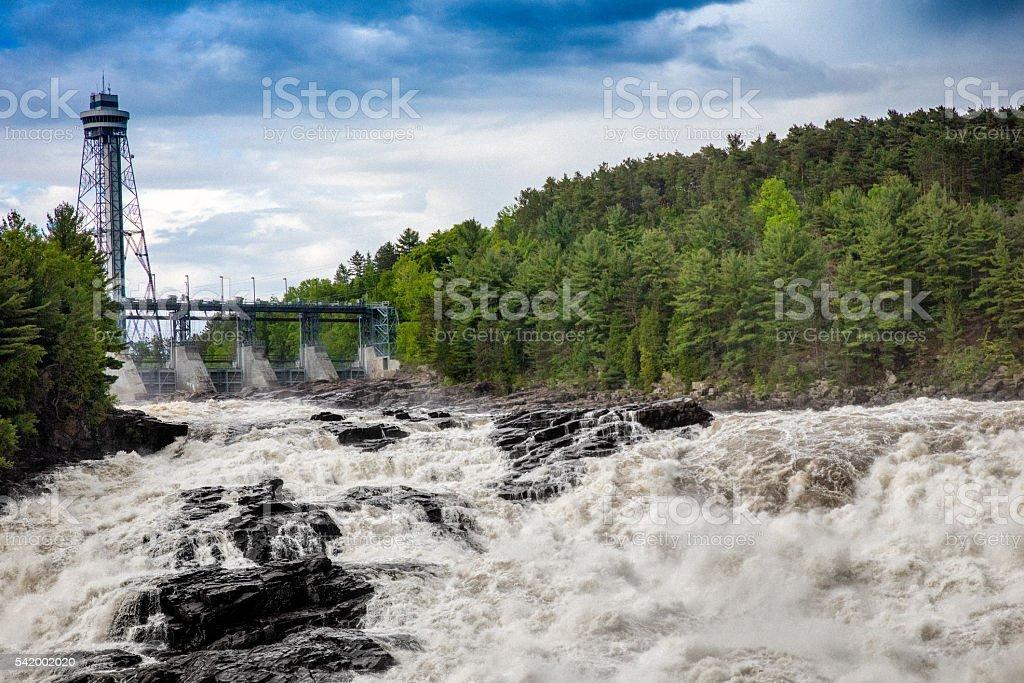 Shawinigan Falls stock photo