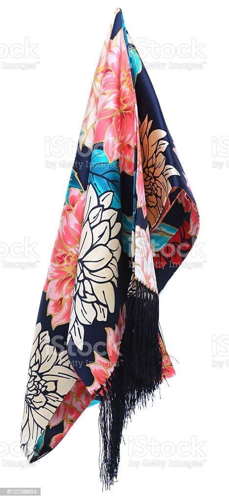 shawl stock photo