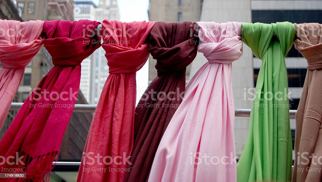 shawls for sale royalty-free stock photo
