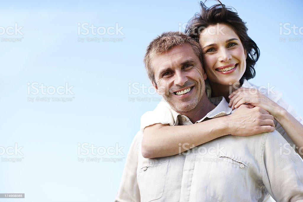 She adores him royalty-free stock photo