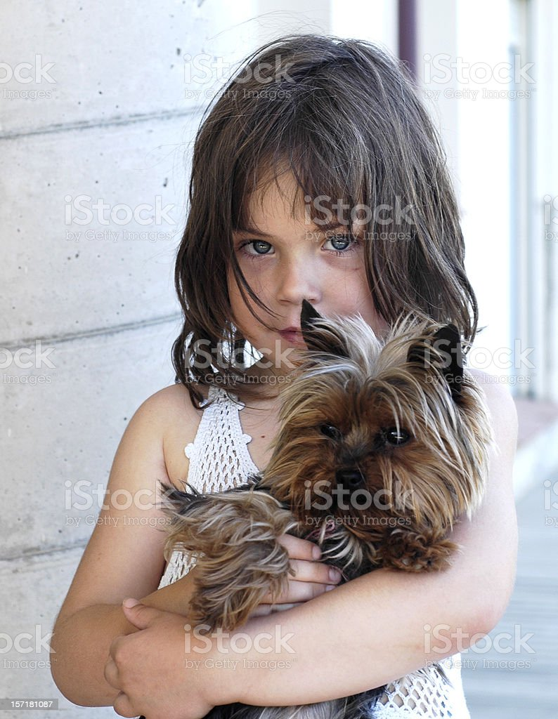 She and her friend stock photo