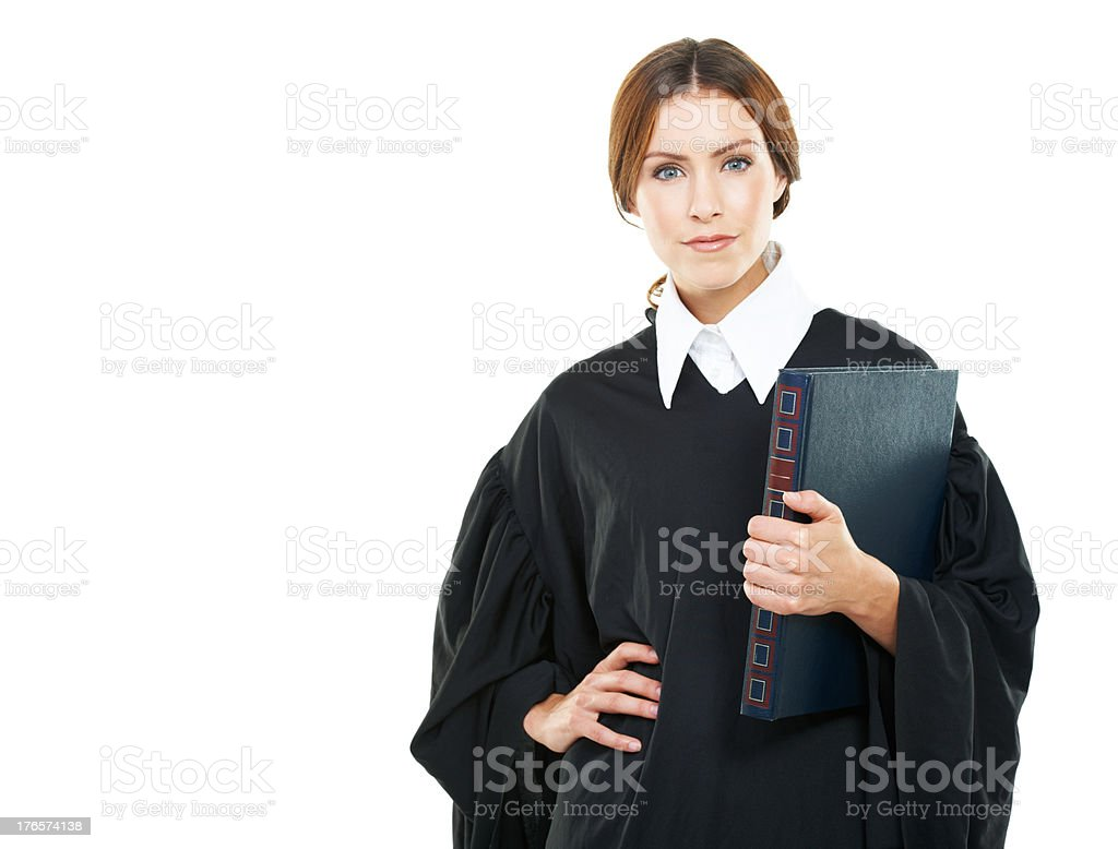 She has made a success of her career stock photo