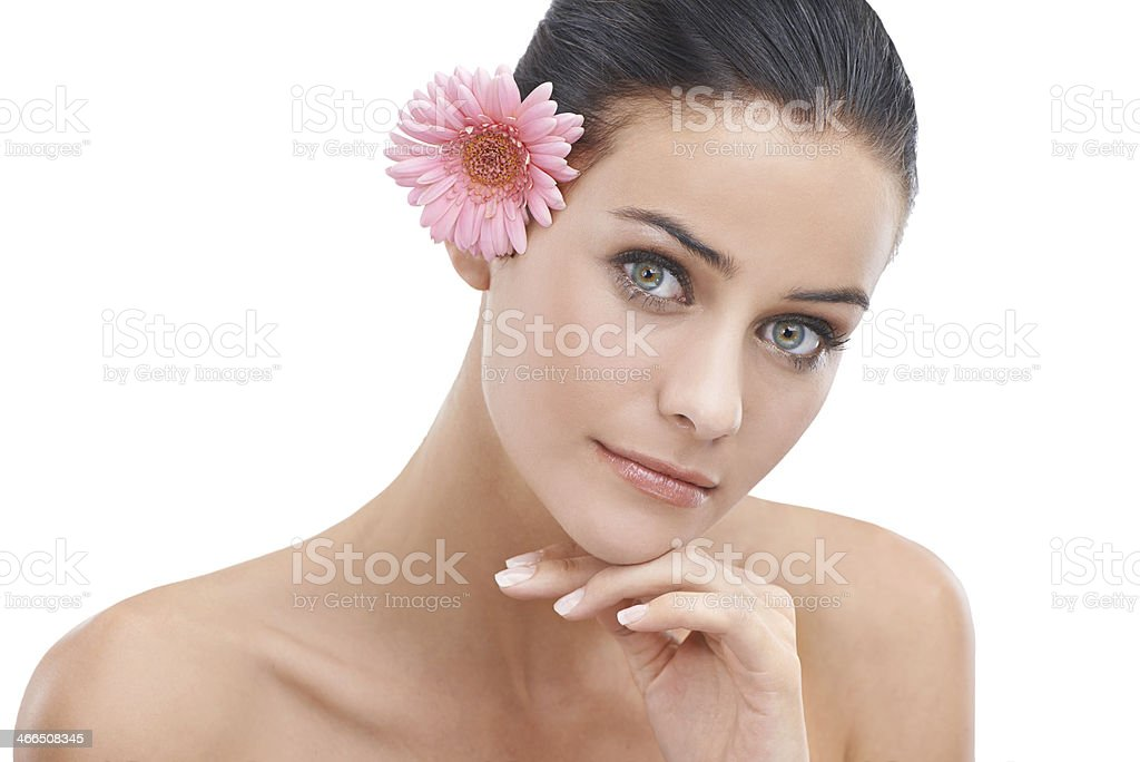 She is beauty in it's purest form royalty-free stock photo