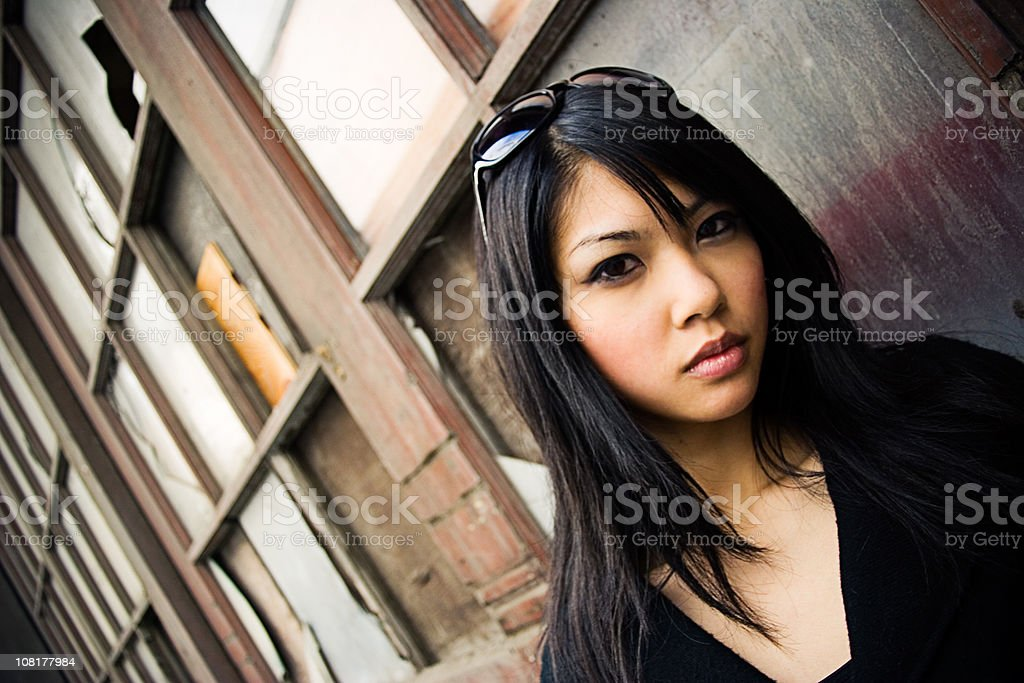 She is Not Impressed stock photo