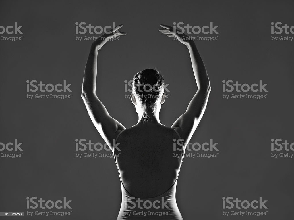 She lives to dance royalty-free stock photo