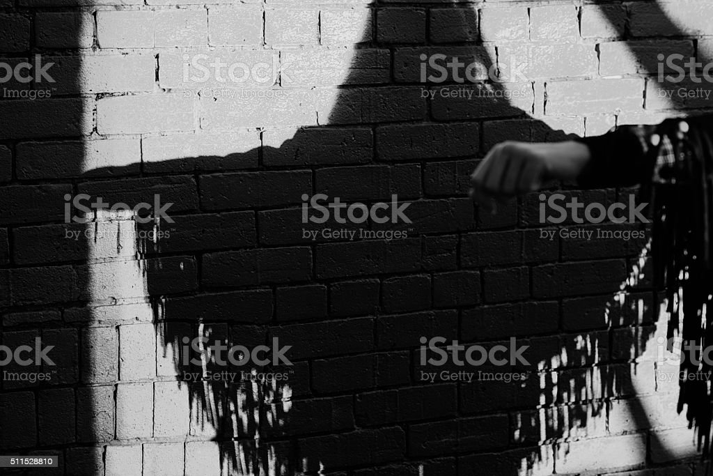She needed a hero, so that's what she became stock photo